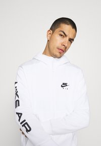 Nike Sportswear - HOODIE - Sweatjacke - white/photon dust/black - 4