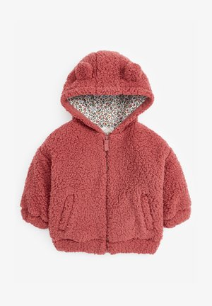 FLEECE HOODY - Fleece jacket - pink