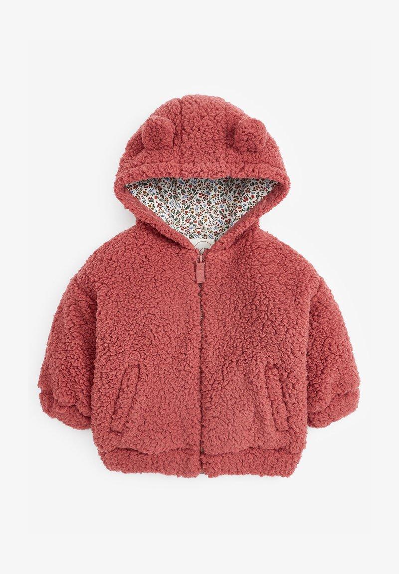 Next - FLEECE HOODY - Fleece jacket - pink