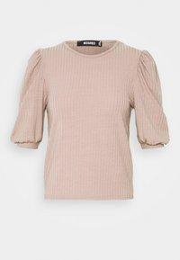 Missguided - PUFF SHORT SLEEVE - Print T-shirt - sand - 3