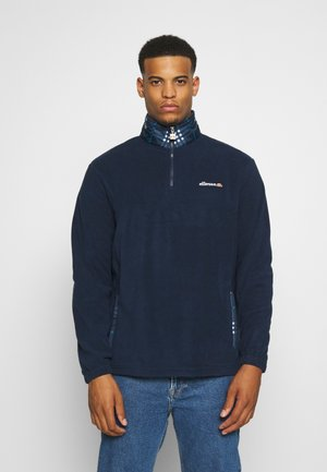 VOLPINI - Felpa in pile - navy