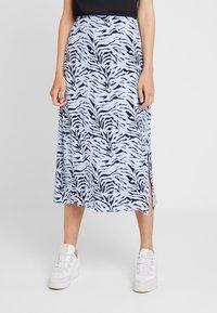 KIOMI - Maxi skirt - light blue/dark blue - 0