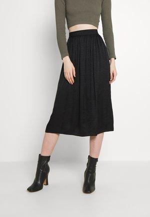MITHA - A-line skirt - black