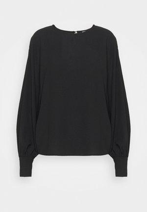 VIRASHA VOLUME - Pitkähihainen paita - black