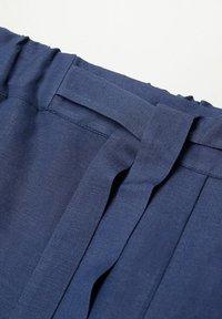 Violeta by Mango - COTILI8 - Trousers - dark navy - 5