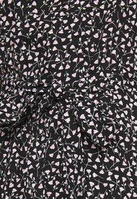 Monki - Vestido camisero - black - 4
