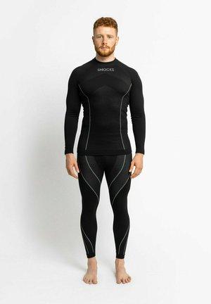 THERMO SET - Undershirt - schwarz