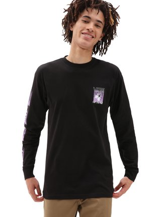 MN FLY NET LS - Long sleeved top - black