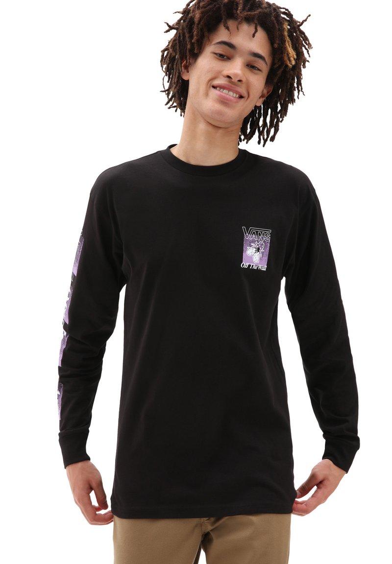 Vans - MN FLY NET LS - Long sleeved top - black