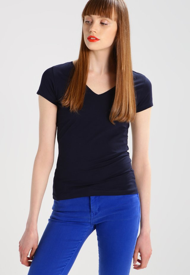 FINE  - Basic T-shirt - navy