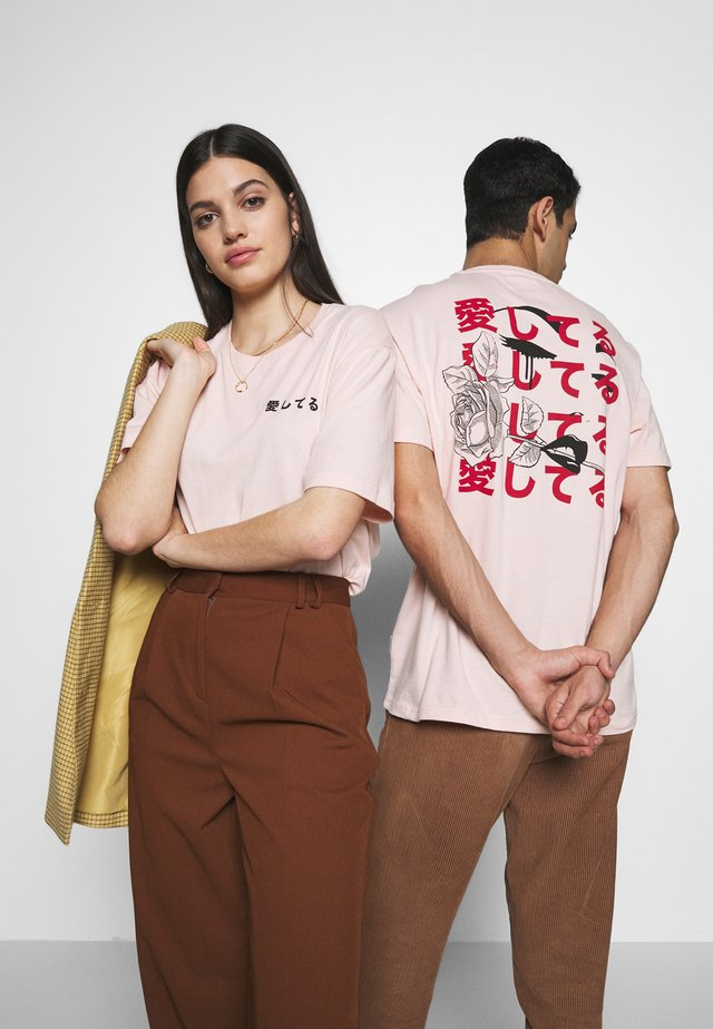 UNISEX - T-shirt con stampa - pink