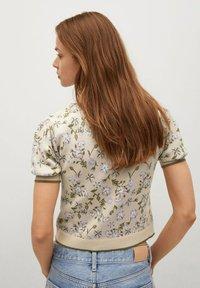 Mango - LILAS - Polo shirt - gris clair/pastel - 2