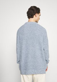NU-IN - SLOUCHY LIGHTWEIGHT SWEATER - Maglione - blue - 2
