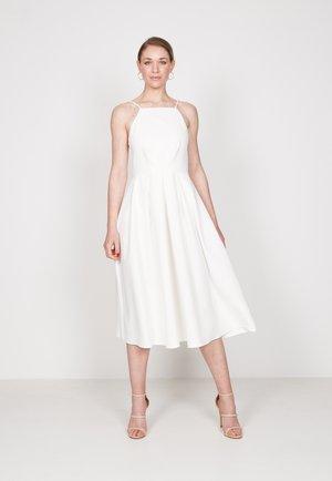 STRAPPY SKATER - Vestito estivo - off white
