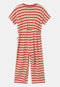 Mini Rodini - STRIPE ONESIE - Overall / Jumpsuit /Buksedragter - red - 1