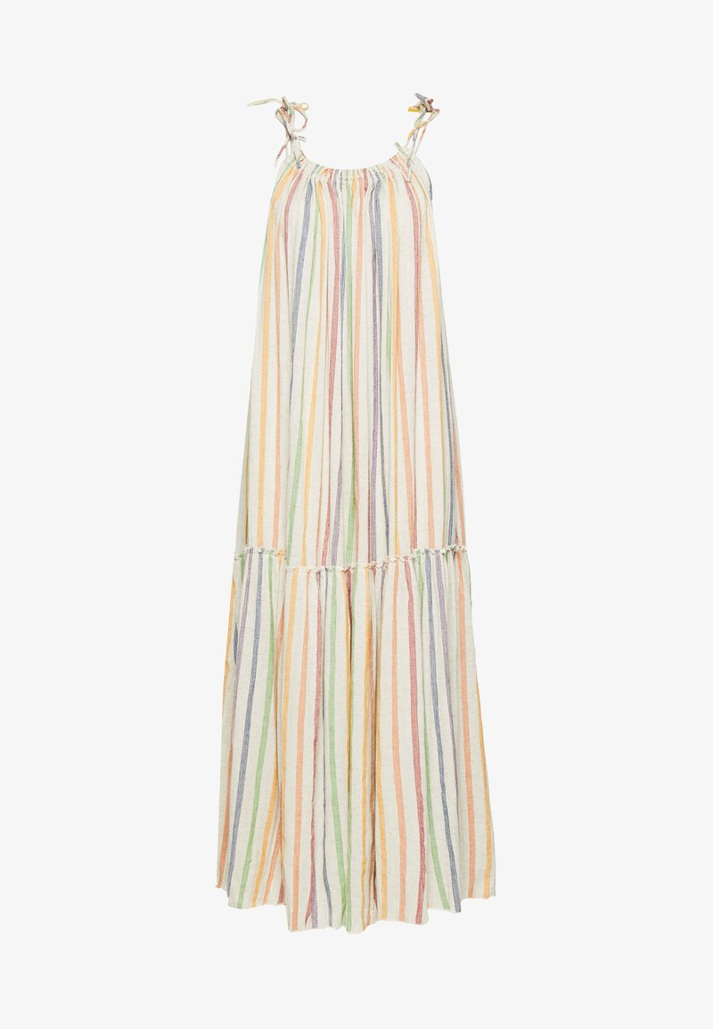 Leon & Harper - RAIA RAINBOW - Day dress - ecru