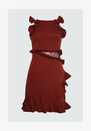 Vestido de cóctel - burgundy