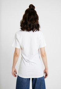 Merchcode - LADIES PLANT ART TEE - T-shirts med print - white - 2