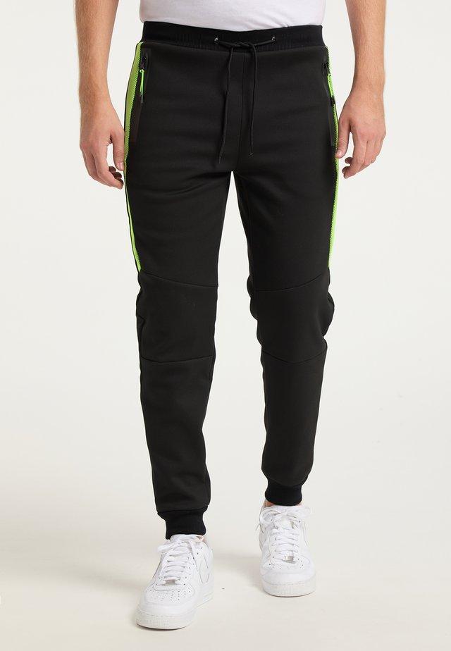 Pantalon de survêtement - schwarz grün