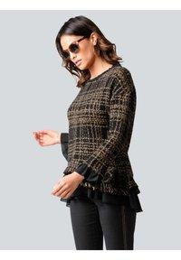 Alba Moda - Sweatshirt - schwarz,camel - 3