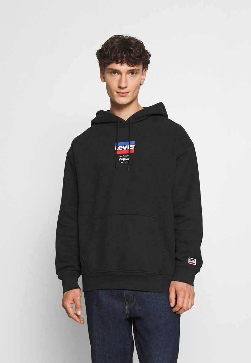Levi's® - RELAXED GRAPHIC - Hoodie - black