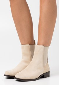 Anna Field - LEATHER - Classic ankle boots - beige - 0
