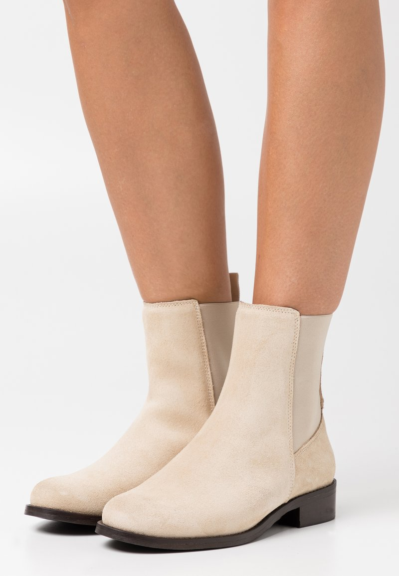 Anna Field - LEATHER - Classic ankle boots - beige