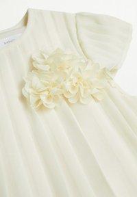 Mango - PLEAT8-A - Cocktail dress / Party dress - blanco roto - 2