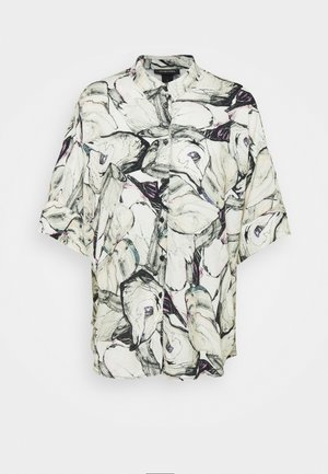 LUCA - Button-down blouse - marblestone