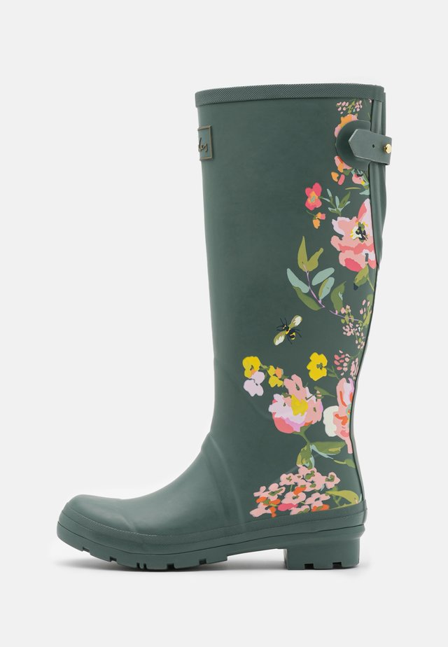 WELLY PRINT - Wellies - green