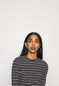 Even&Odd - Long sleeved top - black/white - 3