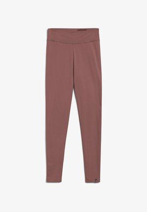 FARIBAA LOGO - Leggings - Trousers - dusty rose