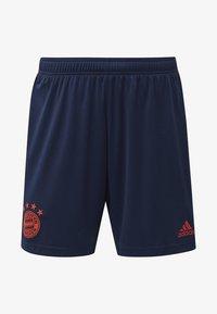 adidas Performance - FC BAYERN THIRD SHORTS - Short de sport - blue - 8
