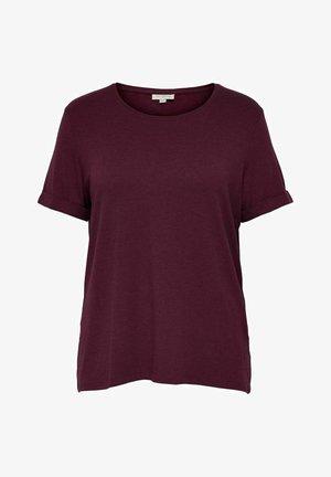 T-shirts basic - zinfandel