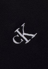 Calvin Klein Jeans - MONOGRAM SCARF UNISEX - Scarf - black - 2
