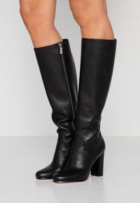 MICHAEL Michael Kors - LOTTIE BOOT - High heeled boots - black - 0