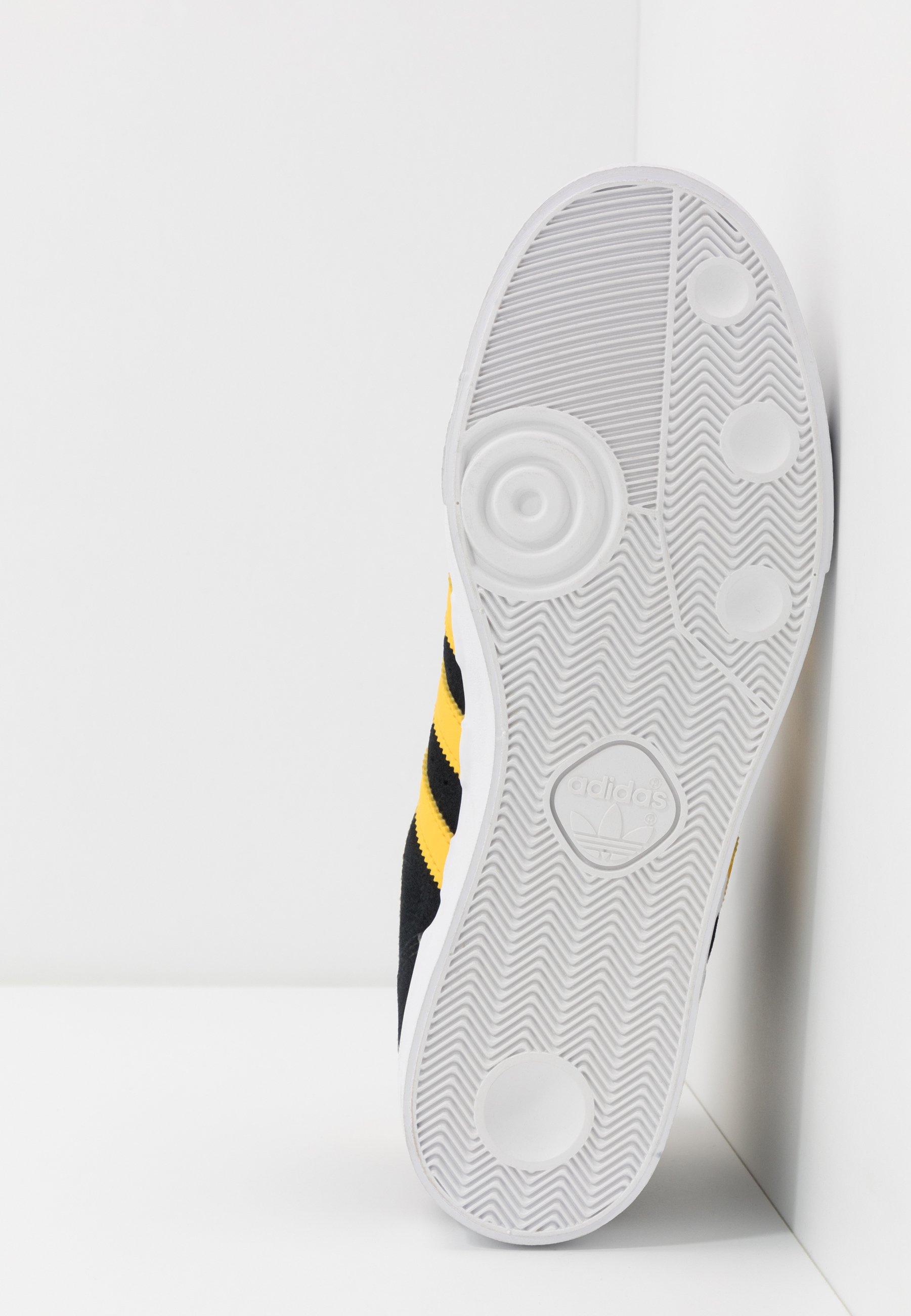 adidas Originals BASKET PROFI Sneaker high core black/bold gold/footwear white/schwarz