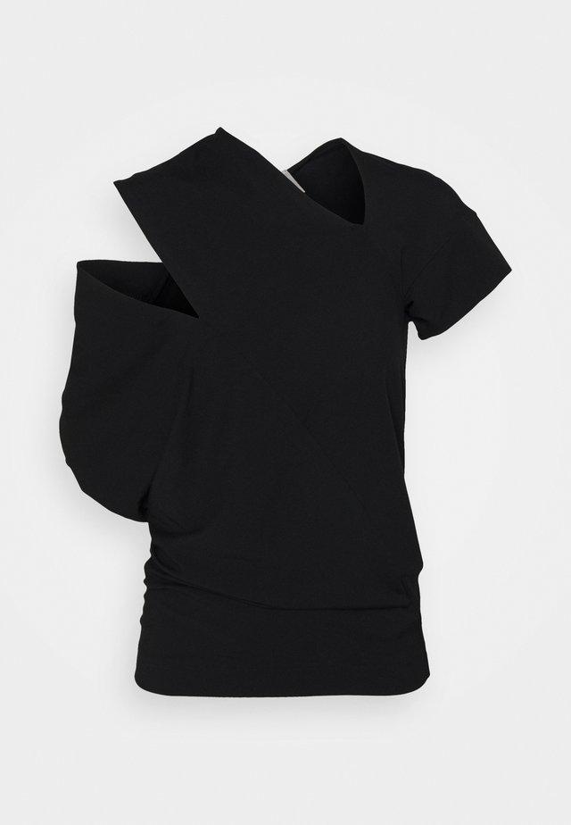 TIMANS - T-shirt imprimé - black