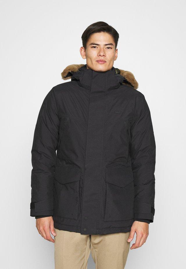 Down jacket - graphite sombre/baobab