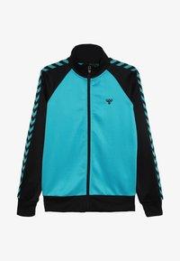 Hummel - HMLKICK - Training jacket - black/lake blue - 2