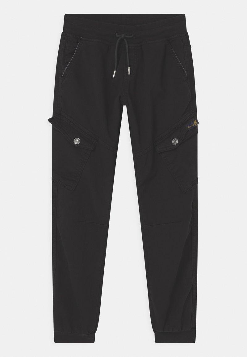 Blue Effect - BOYS STREETWEAR - Cargo trousers - schwarz reactive