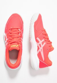 ASICS - GEL-GAME - Clay court tennis shoes - laser pink/white - 0