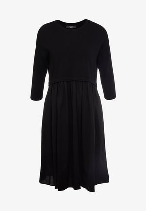 MINCIO - Jumper dress - schwarz