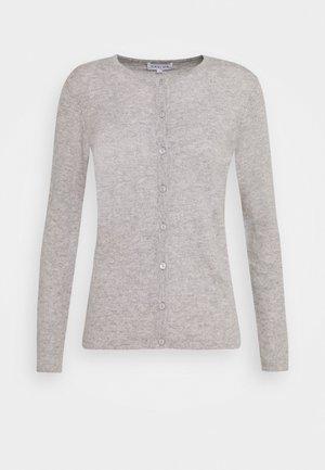 CLASSIC CARDIGAN - Cardigan - light grey