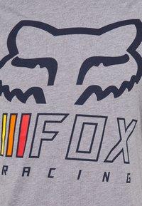Fox Racing - OVERHAUL TECH TEE - Print T-shirt - grey - 5