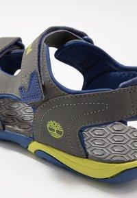 Timberland - ADVENTURE SEEKER 2 STRAP - Walking sandals - dark grey - 2