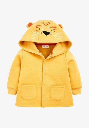 Zip-up hoodie - ochre