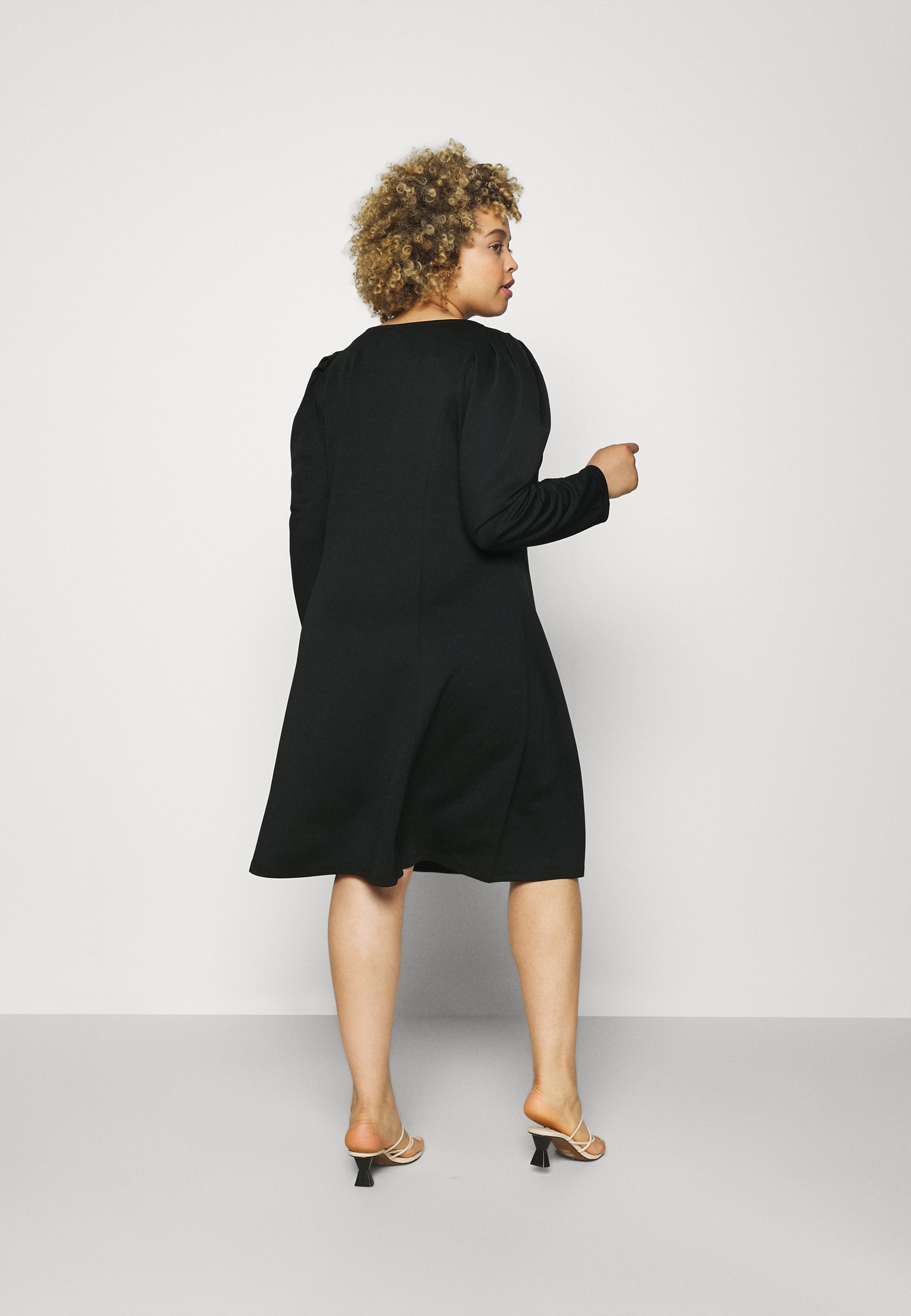 Women VIMALOUA PUFF DRESS - Jersey dress