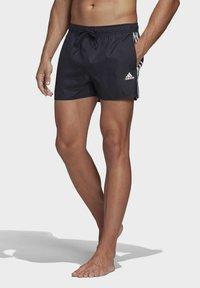 adidas Performance - 3-STRIPES CLX SWIM SHORTS - Shorts da mare - blue - 0