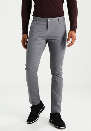ALPHA ORIGINAL KHAKI SKINNY - Chino kalhoty - burma grey